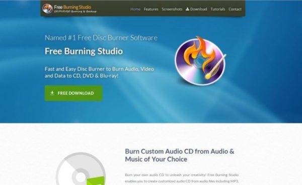 Free Burning Studio per windows