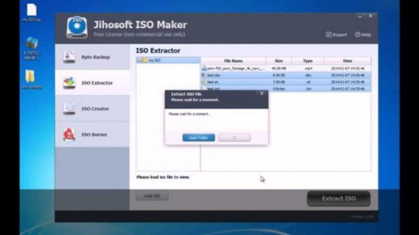 Jihosoft ISO Maker Free per windows