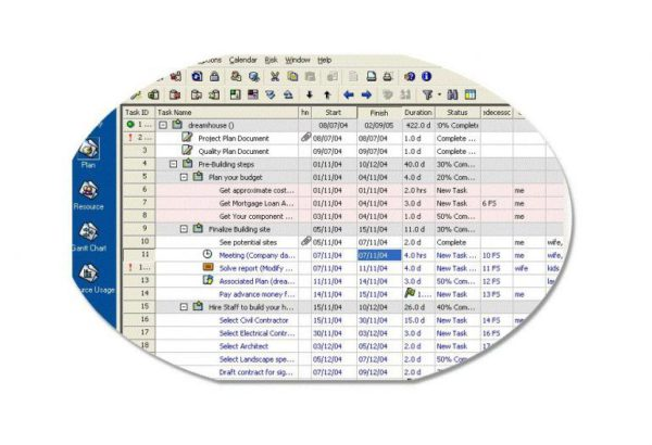 Project Planner Reader for mpp
