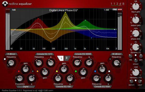 equalizzatore frequenze audio
