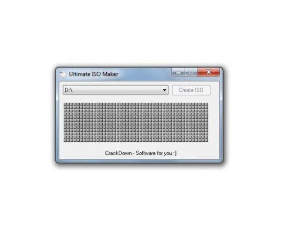 creare file iso windows
