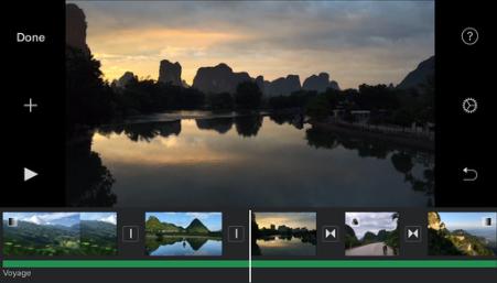 sequenza di foto per video
