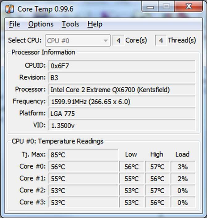 software core temp