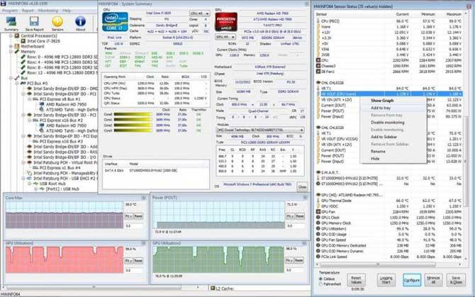monitorare temperatura PC