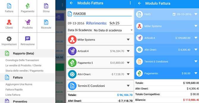 app fatturazione android n.4
