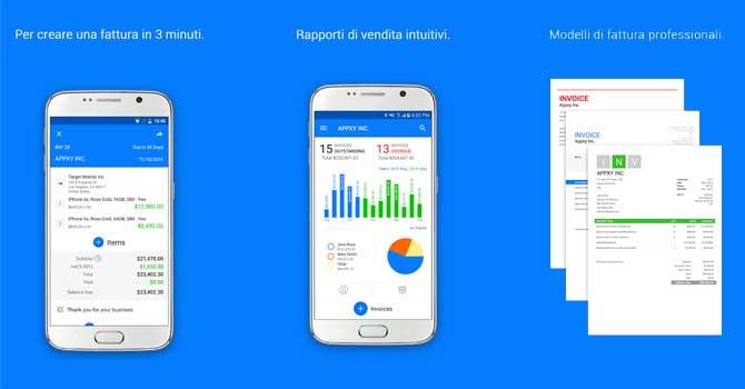 app fatturazione android n.3