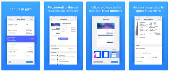 App iPhone fatturazione debitoor