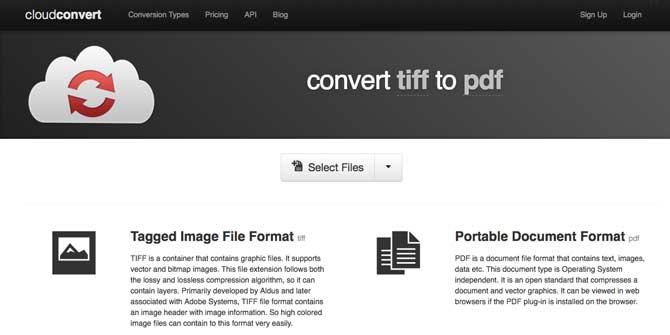 convert tiff