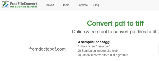 free file convert tiff