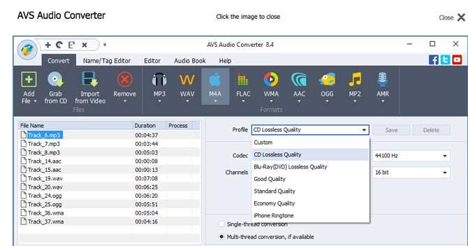 AVS Audio Converter