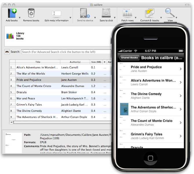 Convertire ebook ed effettuare un test