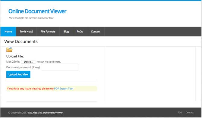 Free online document viewer