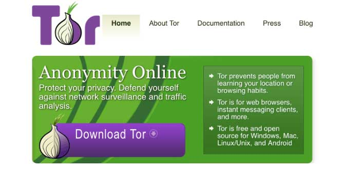 Top Browser by Tor